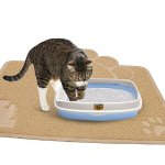 Lightning deal! Cat Litter Mat (2-Mat Set) - Soft and Durable Pet Litter Mats
