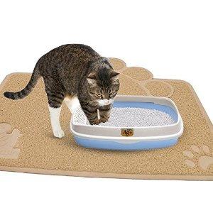 闪购!$9.57(原价$34.99)Pet Magasin 猫砂垫两件套