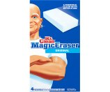 Mr Clean Magic Eraser Original, 4 count - Walmart.com