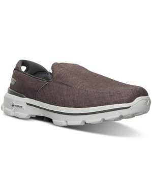 Skechers Men's GOwalk 3 Linen Walking Sneakers