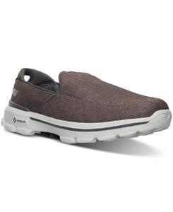 Skechers Men's GOwalk 3 Linen Walking Sneakers