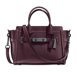 COACH Swagger 27 in Glovetanned Leather - COACH - Handbags & Accessories - Macy's