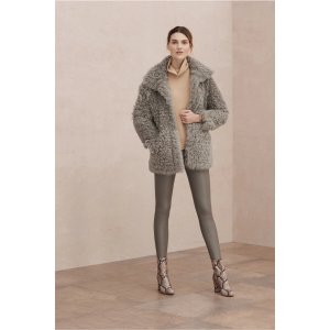 Dulce shearling coat | Iris and Ink | US | THE OUTNET