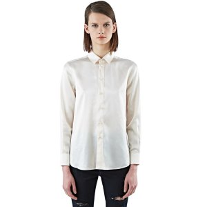Saint Laurent Paris Classic Satin Shirt