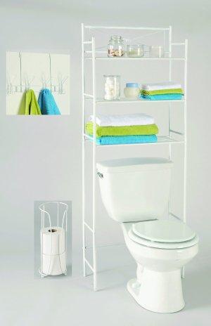 LDR 3-Piece Bathroom Organizer Set