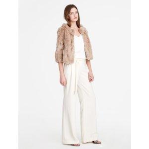 Halston Heritage -Short Fur Coat