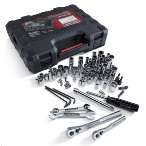108-Pc Mechanics Tool Set: Socket Wrenches and Accessories from Sears