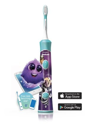 Philips Sonicare for Kids Ice Age, Bluetooth Connected, HX6321/05