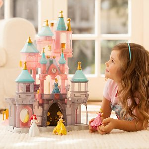 Free With Purchase Free Disney Princess Castle Play Set with Any Purchase of $135 or More