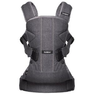 BabyBjorn One Baby Carrier - Gray - Free Shipping