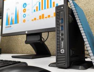 HP ProDesk 400-G2 Mini Desktop(i3 6100T, 4GB DDR4, 500GB)