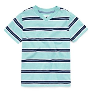 Arizona Boys Short-Sleeve Stripe Tee - Preschool 4-7 - JCPenney