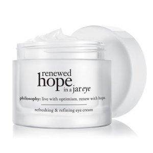 renewed hope in a jar eye refreshing & refining eye cream