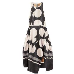Stella McCartney Adalina printed satin-twill dress