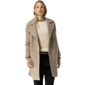 Boiled Wool Topcoat | Tommy Hilfiger USA