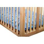 Francois et Mimi 100% Cotton Standard 2 Piece Crib Sheet Set for Boys