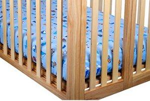 $10Francois et Mimi 100% Cotton Standard 2 Piece Crib Sheet Set for Boys