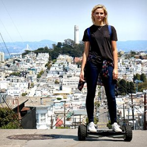 "EPIKGO Self Balancing Scooter Hover Self-Balance Board – UL2272 Certified, All-Terrain 8.5"" Alloy Wheel, 400W Dual-Motor, LG Smart Battery, Hover Through Tough Road Condition"