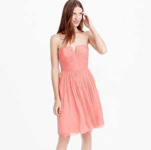 $20Nadia Dress in Silk Chiffon @ J.Crew