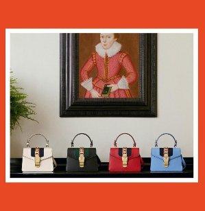 New SeasonGUCCI Sylvie mini chain-embellished leather shoulder bag @ Net-A-Porter UK