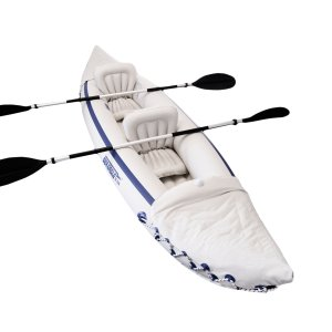 Sea Eagle 330 Inflatable Sport Kayak with Paddles
