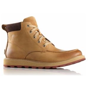 Men's Madson Moc Toe Boot Waterproof Nubuck Leather Upper | SOREL