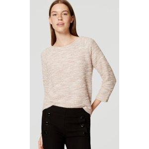 Eyelash Boucle Sweatshirt