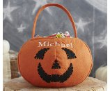 Pumpkin Treat Bag | Pottery Barn Kids