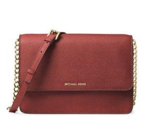50% off + Extra 20% MICHAEL MICHAEL KORS Daniela Large Saffiano Leather Crossbody Bag