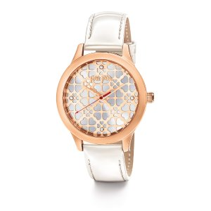 HEART4HEART SWEETHEART WATCH Rose Gold Plated - WF14R031SSW_WH
