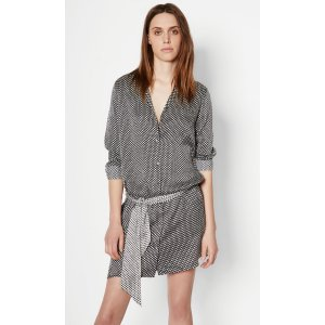 Women's KATE MOSS ROSALIND SILK DRESS made of Silk | Women's Kate Moss by Equipment