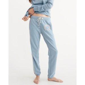 Womens Banded Sweatpants