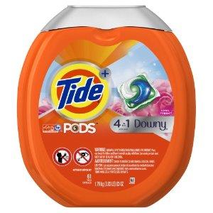 Tide PODS Plus Downy Laundry Detergent, April Fresh, 61 Loads | Jet.com