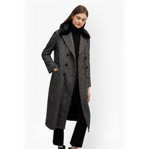 Rupert Tweed Long Double Breast Coat | Coats | French Connection Usa