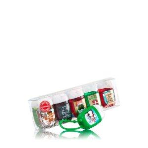 Santa's Favorites 9-Pack PocketBac & Holder Gift Set - Soap/Sanitizer - Bath & Body Works