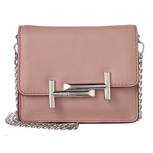 TOD's Mini Double T Leather Crossbody