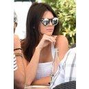 Illesteva 'Leonard II' 50mm Round Mirrored Sunglasses  @ Nordstrom