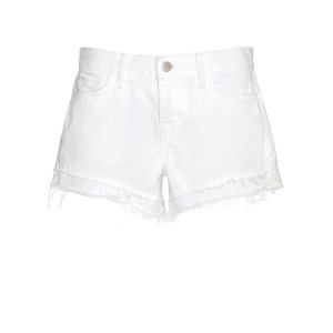 J Brand Sachi Cut Offs: White | Shop IntermixOnline.com