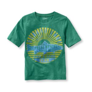 Kids' Boys' Short-Sleeve Graphic Tee   Now on sale at L.L.Bean