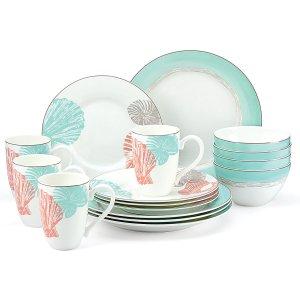 Sandy Point 16-pc Dinnerware Set | Large Dinnerware Sets