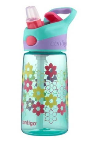 Contigo AUTOSPOUT Kids Striker Water Bottle, 14-Ounce