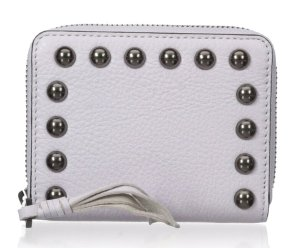 $20.97(reg.$75) Rebecca Minkoff Mini Ava Zip Wallet with Studs Wallet