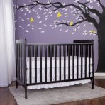 $99 Dream On Me, Classic 3 in 1 Convertible Crib, Natural