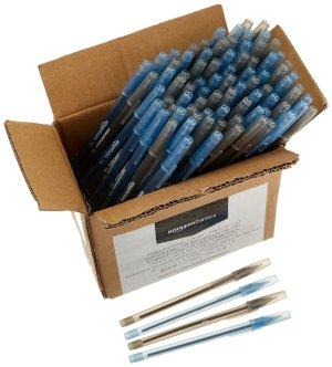 $4.21包邮AmazonBasics 圆珠笔 1mm笔粗 100支装