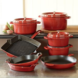 Staub Cast-Iron 12-Piece Cookware Set | Williams-Sonoma