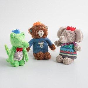 Plush Holiday Stuffed Animals | World Market