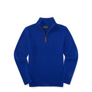 Cashmere Half-Zip Sweater - Sweaters � Little Kid (sizes 2-7) - RalphLauren.com