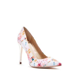 Amy Floral-Print Pump | GUESS by Marciano