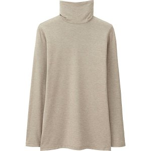 WOMEN HEATTECH TURTLENECK T-SHIRT