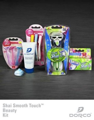 Only $12 for Entire Set! 50% OffShai Smooth Touch Beauty Kit @ Dorco USA Dealmoon Doubles Day Exclusive!